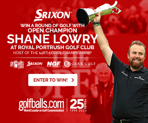 Shane Lowry Sweepstakes
